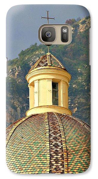 Galaxy Case featuring the photograph Amalfi Cross by Henry Kowalski