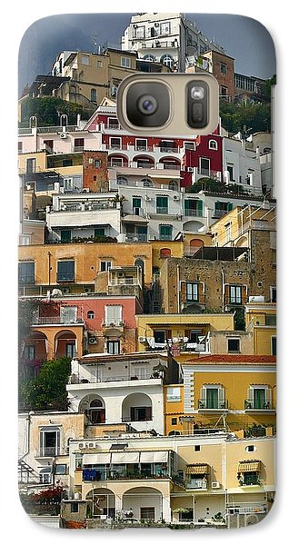 Galaxy Case featuring the photograph Amalfi Houses by Henry Kowalski