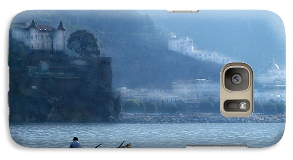 Galaxy Case featuring the photograph Amalfi To Capri. Italy by Jennie Breeze