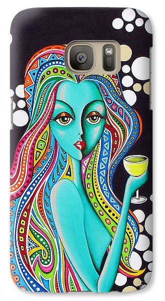 Galaxy Case featuring the painting Amanda  by Joseph Sonday