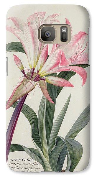 Lily Galaxy S7 Case - Amaryllis Belladonna, 1761 by Georg Dionysius Ehret