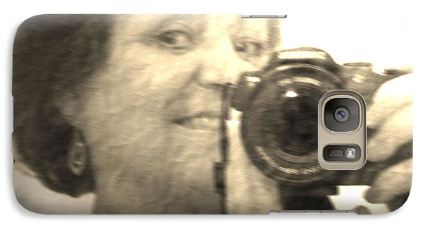 Galaxy Case featuring the photograph Amateur 2 by Maria  Disley