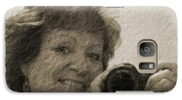 Galaxy Case featuring the photograph Amateur by Maria  Disley