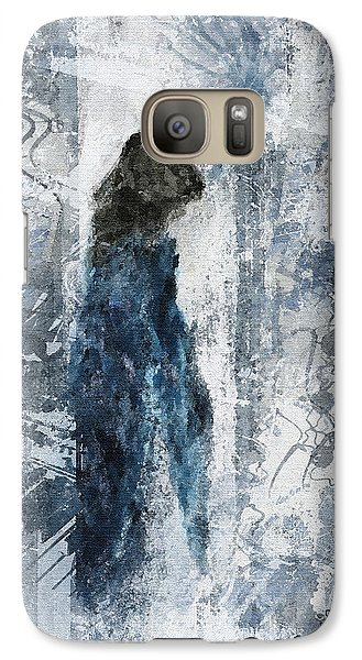 Galaxy Case featuring the painting Amazing Dream by Shelley Bain