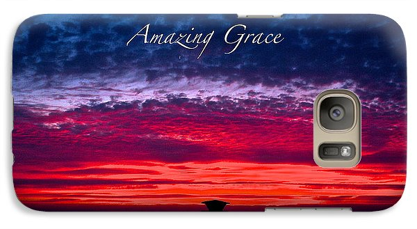Galaxy Case featuring the photograph Red Sky At Night by Margie Amberge