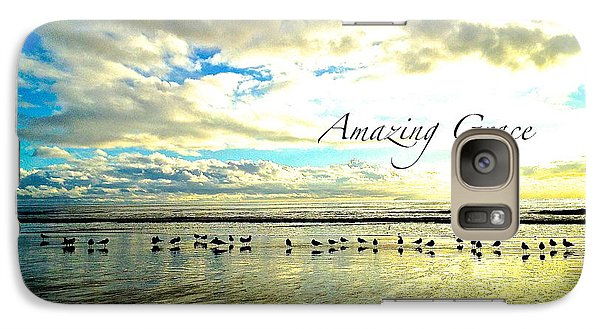 Galaxy Case featuring the photograph Amazing Grace Sunrise 2 by Margie Amberge