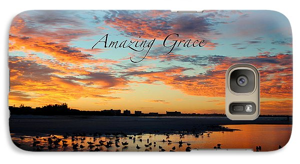 Galaxy Case featuring the photograph Amazing Grace On Siesta Key by Margie Amberge