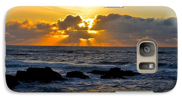 Galaxy Case featuring the photograph Amazing Sunset by Alex King