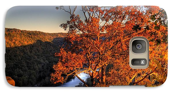 Galaxy S7 Case featuring the photograph Amazing Tree At Overlook by Jonny D