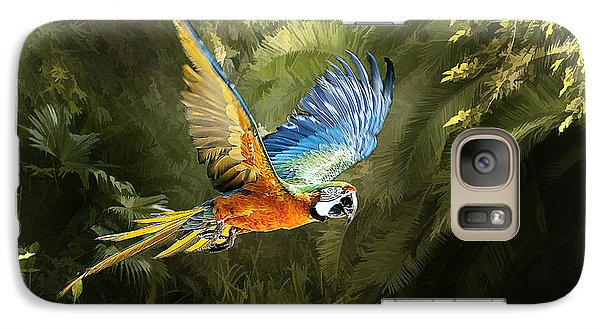 Galaxy Case featuring the photograph Amazon Beauty by Brian Tarr
