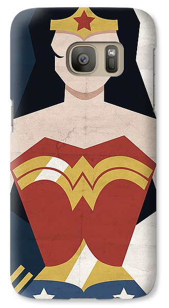 Galaxy Case featuring the digital art Amazon Princess by Michael Myers