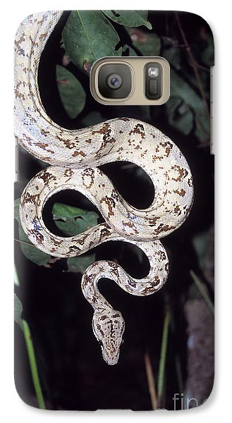 Amazon Tree Boa Galaxy S7 Case by James Brunker