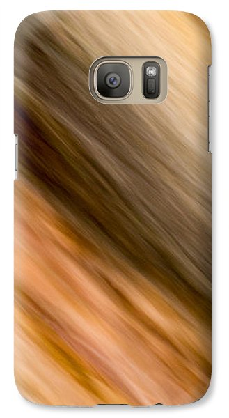 Galaxy Case featuring the photograph Amber Diagonal by Darryl Dalton