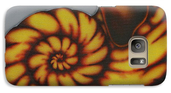 Galaxy Case featuring the painting Amber. by Kenneth Clarke