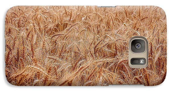 Galaxy Case featuring the photograph Amber Waves by Scott Bean