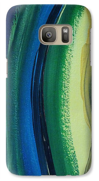 Galaxy Case featuring the painting Ambien by Arlene Sundby