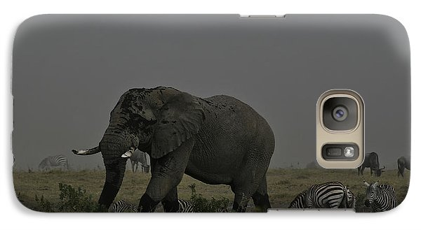 Galaxy Case featuring the photograph Amboseli Giant by Gary Hall