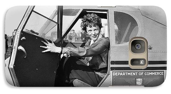 Amelia Earhart - 1936 Galaxy S7 Case