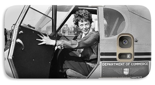 Amelia Earhart - 1936 Galaxy Case by Daniel Hagerman