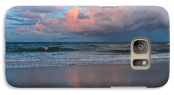Galaxy Case featuring the photograph Amelia's Sunset by Paula Porterfield-Izzo
