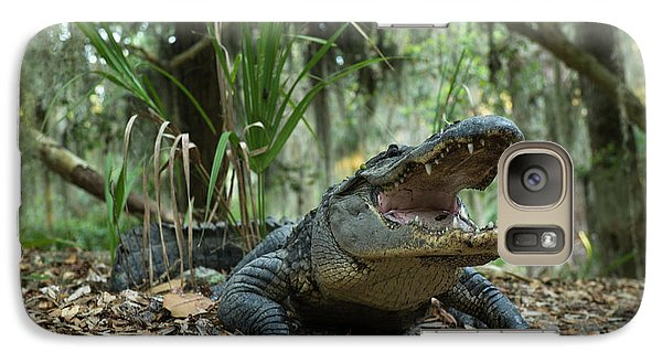 American Alligator (alligator Galaxy S7 Case by Pete Oxford