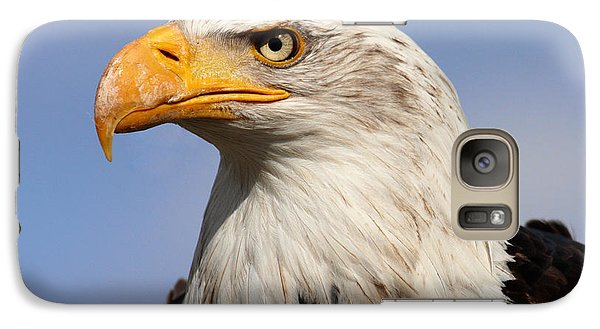 Galaxy Case featuring the photograph American Bald Eagle by Nick  Biemans