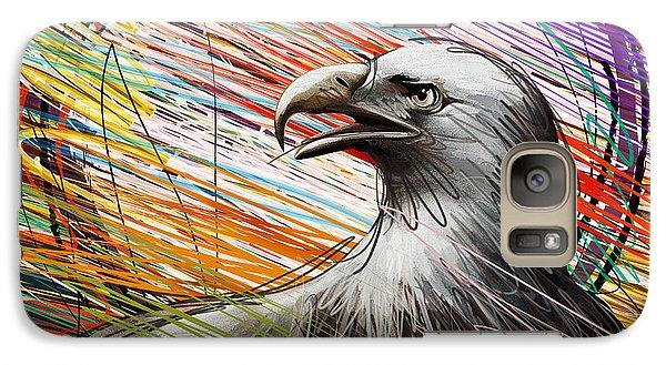 Condor Galaxy S7 Case - American Eagle by Peter Awax