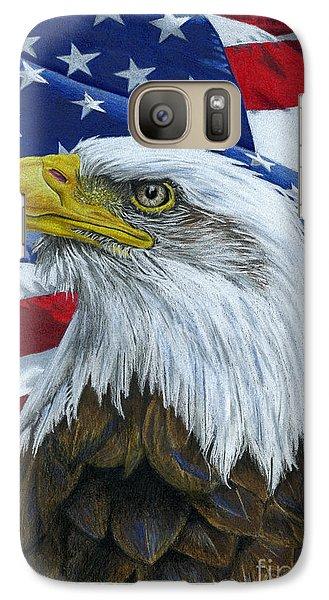 American Eagle Galaxy S7 Case by Sarah Batalka