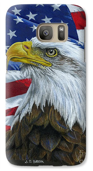 American Eagle Galaxy S7 Case by Sarah Batalka