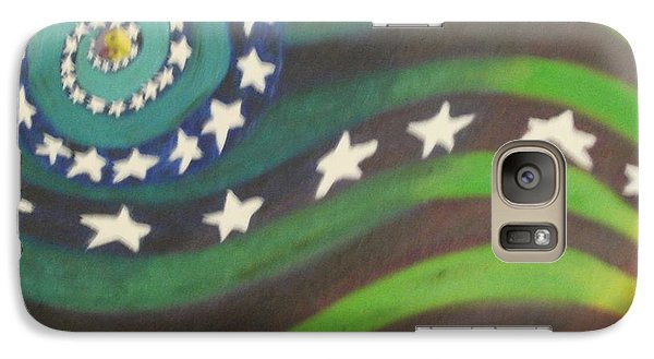 American Flag Reprise Galaxy S7 Case