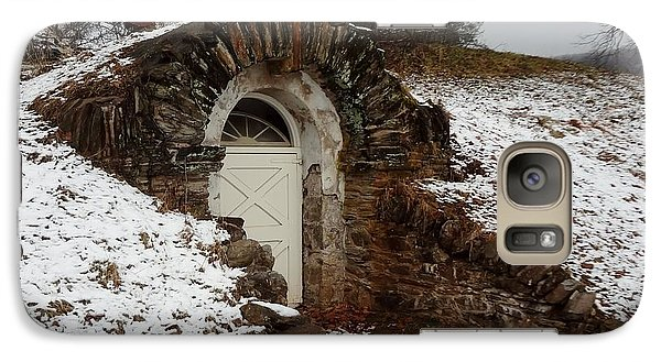 Galaxy Case featuring the photograph American Hobbit Hole by Michael Porchik