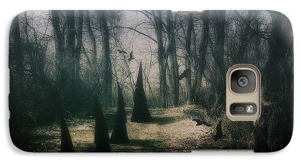 Raven Galaxy S7 Case - American Horror Story - Coven by Tom Mc Nemar