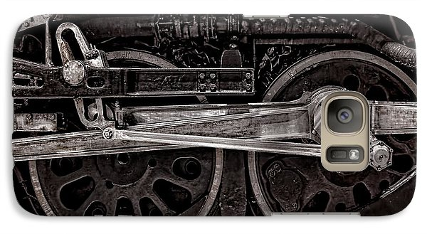 Galaxy Case featuring the photograph American Iron by Ken Smith