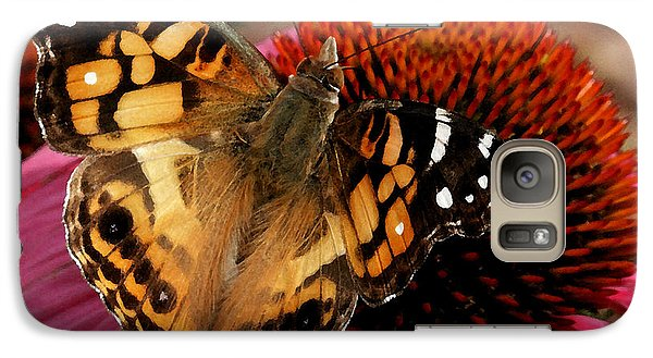 Galaxy Case featuring the photograph American Lady  by James C Thomas