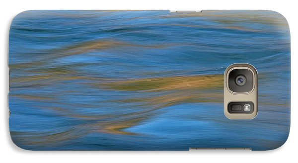 Galaxy Case featuring the photograph American River Abstract by Sherri Meyer