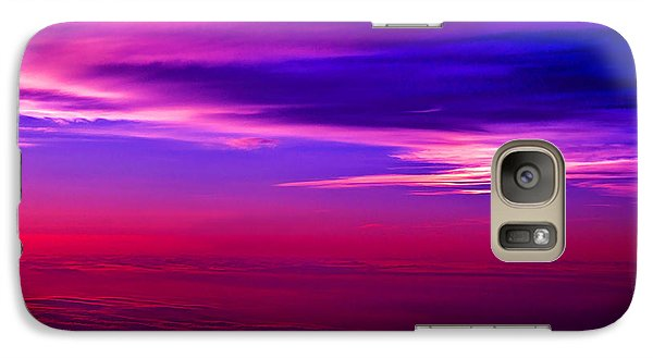 Galaxy Case featuring the photograph American Sky by Adam Olsen
