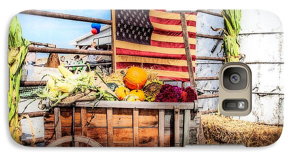 Galaxy Case featuring the photograph Americana Farm Scene by Eleanor Abramson