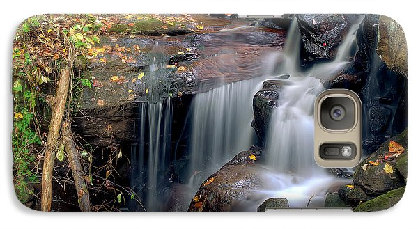 Galaxy Case featuring the photograph Amicalola Waterfall by Anna Rumiantseva