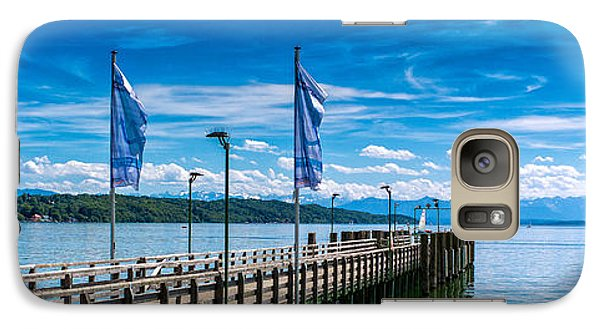 Galaxy Case featuring the photograph Ammersee - Lake In Bavaria by Juergen Klust