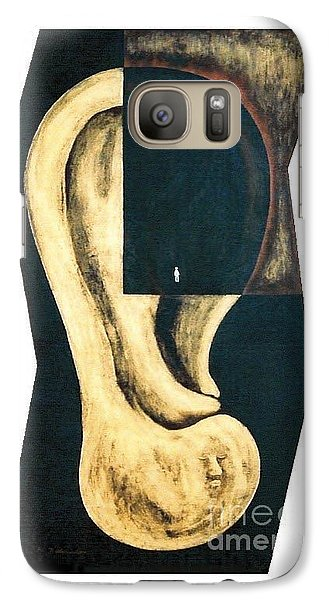 Galaxy Case featuring the painting Amnesia by Fei A