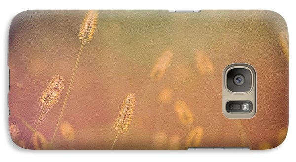 Galaxy Case featuring the photograph Among The Prairie Grasses by Julie Clements