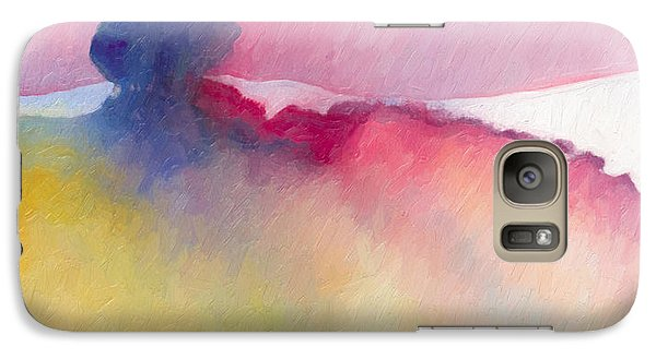 Galaxy Case featuring the painting Amorphous 48 by The Art of Marsha Charlebois