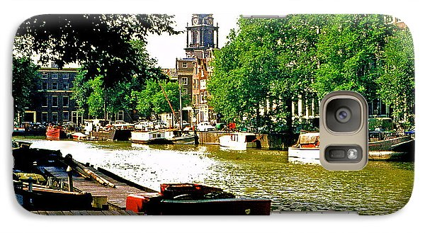 Galaxy Case featuring the photograph Amsterdam by Ira Shander
