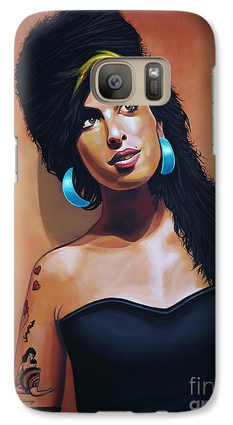 Amy Winehouse Galaxy S7 Case