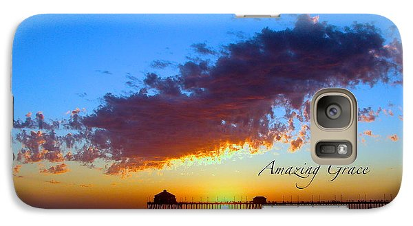 Galaxy Case featuring the photograph Amzing Grace 7 by Margie Amberge