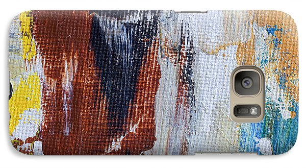 Galaxy Case featuring the painting An Abstract Sort Of Weekend by Heidi Smith