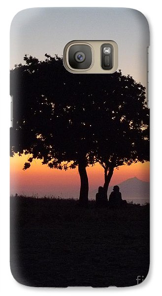 Galaxy Case featuring the photograph An African Sunset by Vicki Spindler