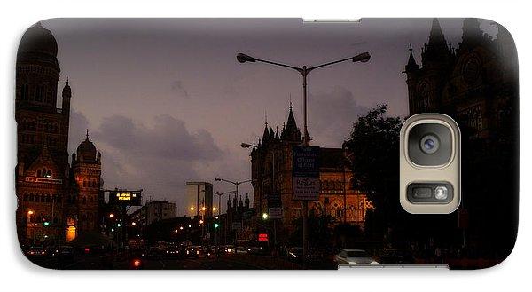 Galaxy Case featuring the photograph Mumbai by Salman Ravish