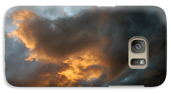Galaxy Case featuring the photograph .....an Ill Wind That Blows by Allen Carroll