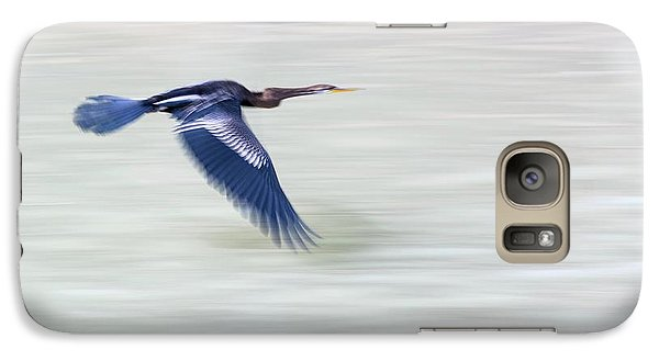 Anhinga Galaxy S7 Case - An Indian Darter (anhinga Melanogaster) by Ashley Cooper